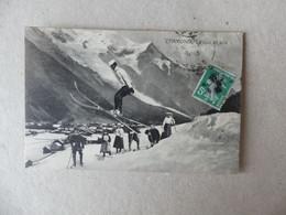 """Chamonix Le Saut En Skis, """"en Scis"""" - Chamonix-Mont-Blanc"""
