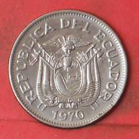 ECUADOR 1 SUCRE 1970 -    KM# 78b - (Nº41286) - Ecuador