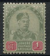 Jahore (1892) N 9 (charniere) - Johore