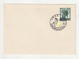"""0298 / Deutsches Reich - 1938 - Mi. 662 Auf Karte SSt. """"GRAZ-Geburtstag Des Fuehrers"""" / € 0.90 - Lettres & Documents"""