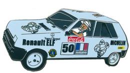 1 Pins Renault R5 Alpine, Coca Cola,Tintin,Michelin,Champagne 6cm De Long - Renault