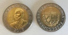 CUBA 5 Pesos, 2018, (NEW Not Listed In Catalog), UNC - Cuba