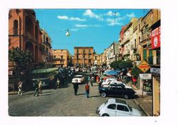 Napoli Pozzuoli Kolor Anni 60 P.zza Della Repubblica Animata Auto Bus - Napoli