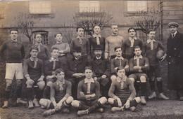 Carte Photo  équipe De Rugby 1900-1910 à Identifier - Rugby