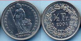 Switzerland Swiss 0.5 Franc (50 Rappen) 2004 AXF - Suiza