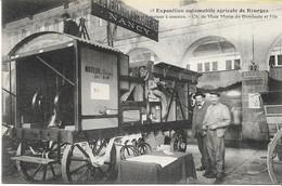 BOURGES  Exposition Automobile Agricole Batteuse à Moteur Ch. De MEIX MORIN De DOMBASLE Et Fils - Bourges