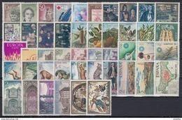 ESPAÑA 1972 Nº2071/2116 AÑO NUEVO COMPLETO SIN CHARNELA 46 SELLOS - Full Years