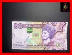 TURKMENISTAN 20 Manat 2012 P. 32  UNC - Turkmenistan