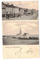Morhange- Gruss Aus Mörchingen- Marktplatz- Garnisonkirche,-Wilh. Steinberg - Morhange
