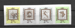 1962 MNH Hungary, Mi 1868-71B Imperforate - Nuevos