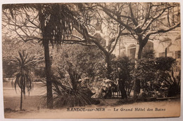 BANDOL - Le Grand Hôtel Des Bains - Bandol