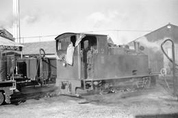 Maizy (Aisne). Chemin De Fer Betteravier De La Sucrerie. Cliché Jacques Bazin. 02-12-1961 - Eisenbahnen