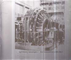 Plaque De Verre Format 18 X 24 Cm - MÉTRO Équipement Électrique - Une Commutatrice De 3000 KW - Diapositiva Su Vetro