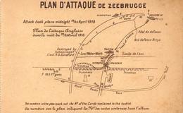 Plan D'attaque De ZEEBRUGGE - Zeebrugge