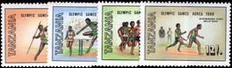Tanzania 1988 Olympics Unmounted Mint. - Tanzania (1964-...)