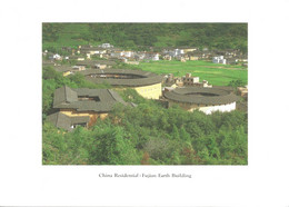 (CHINA) GAOTOU GROUP EARTH BUILDINGS, YONGDING, FUJIAN - New Postcard - China