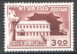Ryu Kyu 1950 Y.T.15 **/MNH VF/F - Non Classificati