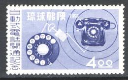 Ryu Kyu 1956 Y.T.40 **/MNH VF/F - Sin Clasificación