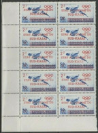 Sud Kasaï - 18 - Bloc De 10 - Jeux Olympiques De Rome - 1961 - MNH - South-Kasaï