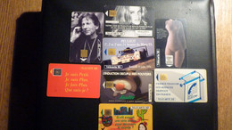 Lot 8 Télécartes Diverses - Collections