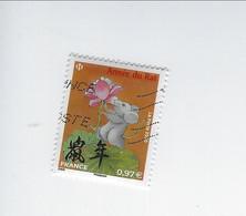 Année Lunaire Chinoise Du Rat 5376 Oblitéré Petit Format 2020 - Gebraucht