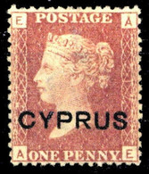 1880, Zypern, 2, * - Ohne Zuordnung