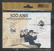 """FRANCE / 2020 / Y&T N° 5398/5399 ** En Bloc Ou F5398 ** (Feuillet """"300 Ans D'hydrographie Française"""") X 1 Sous Blister - Nuevos"""