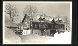 AK Harrachov, Hotel Erlebach Im Winter - Czech Republic