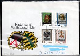 DDR 1990 Mi. 3302-3305 Als FDC (p1932) - FDC: Covers