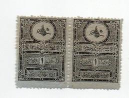 Turkey, OTTMAN Stamps, Pair, Mint Never Hinged, Postage Due - Unused Stamps