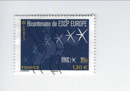 Education Bicentenaire De ESCP Europe Ecole De Commerce 5349 Oblitéré 2019 - Gebruikt