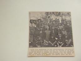 """Origineel Knipsel ( C 435 ) Uit Tijdschrift  """" Ons Volk """"  1913 :   Studenten  Haacht - Ohne Zuordnung"""