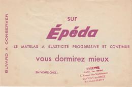 BUVARD & BLOTTER -  Matelas Epéda  à élasticité Progressive - Tampon Evelyne 5 Avenue Des Marronniers SAVIGNY Sur Orge - Non Classificati