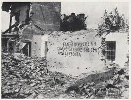 E1491 Scritta Su Rudere Dopo Bombardamento Nel Piave - 1929 Stampa Epoca - Stampe & Incisioni