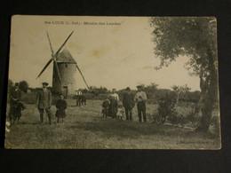 Ref6271 CPA Animée Sainte Luce - Moulin Des Landes - Collection Godard 1915 - Andere Gemeenten