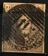 Medaillon 10 Gestempeld P115 THIELT - 1858-1862 Medaillons (9/12)