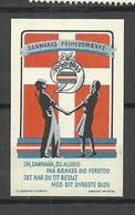 Denmark 1945 Patriotic Vignette * - Otros