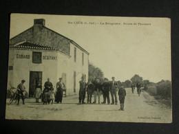 Ref6272 CPA Animée Sainte Luce - La Bougrière - Route De Thouaré - Collection Godard Débitant 1915 - Andere Gemeenten