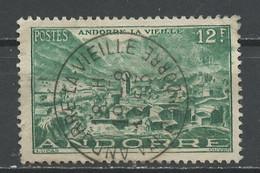 Andorre Français - Andorra 1948-51 Y&T N°130 - Michel N°(?) (o) - 12f Andorre La Vieille - Used Stamps