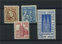 BIZONE 1948 Nr 69-72 Postfrisch (115797) - American/British Zone