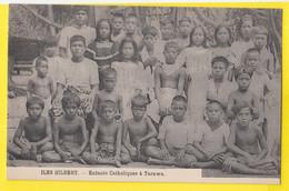 ILES GILBERT KIRIBATI Enfants Catholiques à Tarawa - Micronesia