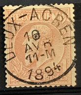 OBP 51 Gestempeld EC DEUX-ACREN - 1884-1891 Leopoldo II