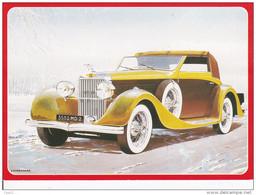 CPM AUTOMOBILE HISPANO SUIZA 1934 Par Yves Dubernard - Toerisme