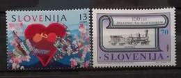 Slovénie 1996 / Yvert N°126 + 129 / ** - Slovenia