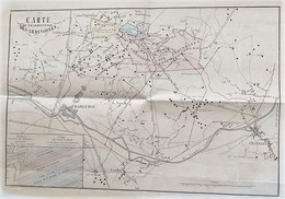 GILLY : Carte Du Charbonnage Des Ardinoises - Estampes & Gravures