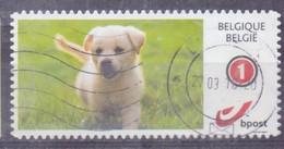 België - Duostamps  - Honden - Zonder Papierresten - Usados