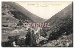 CPA Dieulefit Passage Des Gorges De Vente Et Saint Maurice - Dieulefit
