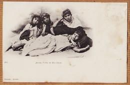 Alg087 Type Ethnic BOU-SÂADA Algérie Jeunes Filles De.. 1900s GEISER ALGER 104 - Other Cities