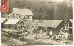 10398 - TURINI  :  CAMP INFERIEUR  ,  LE  POSTE   CHASSEURS ALPINS ( Disparu ??) VESUBIE / SOSPEL Circulée En 1906 - Sospel