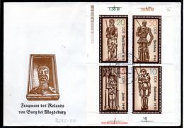 DDR 1989 Mi. 3285-3288 Auf Brief (p1939) - Covers